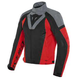 LEVANTE AIR TEX JACKET BLACK/CHARCOAL-GRAY/LAVA-RED