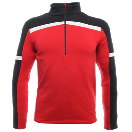 HP2 HALF ZIP MAN HIGH-RISK-RED/STRETCH-LIMO