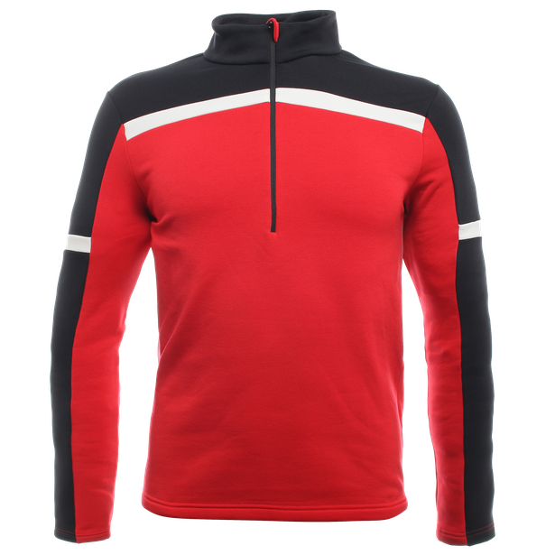 HP2 HALF ZIP MAN HIGH-RISK-RED/STRETCH-LIMO- Layer Termici