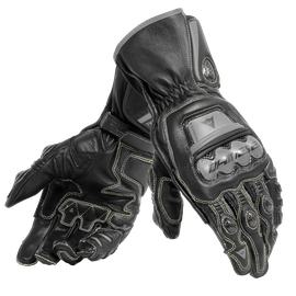FULL METAL 6 GLOVES BLACK/BLACK/BLACK- Cuir