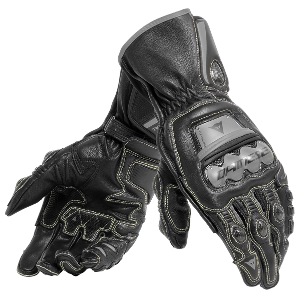 FULL METAL 6  GLOVES BLACK/BLACK/BLACK- Pelle