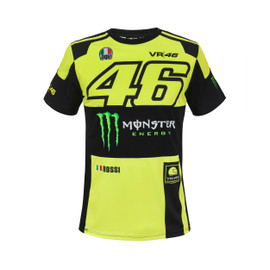 REPLICA MONZA T-SHIRT FLUO-YELLOW