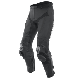 ALPHA PERF. LEATHER PANTS BLACK/BLACK/BLACK