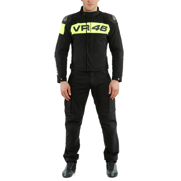 VR46 PODIUM D-DRY® JACKET BLACK/FLUO-YELLOW- undefined