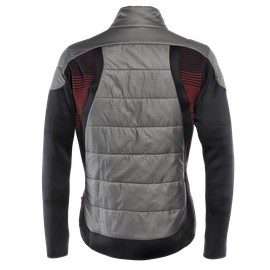 HP1 HYBRID JKT GUN-METAL/HIGH-RISK-RED- Downjackets