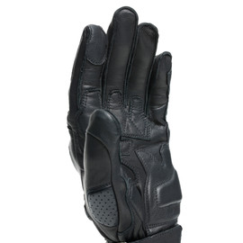 IMPETO GLOVES BLACK/BLACK- Pelle
