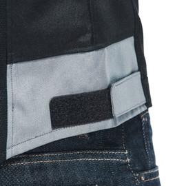 ELETTRICA AIR TEX JACKET BLACK/FLAME-ORANGE/CHARCOAL-GRAY- Textil