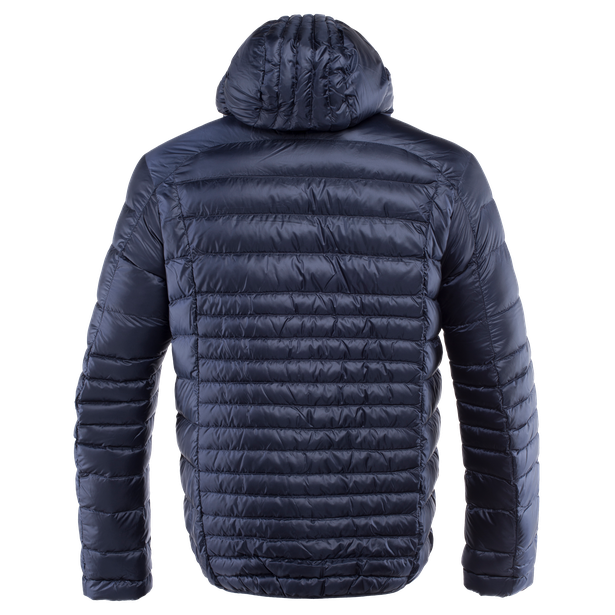 PACKABLE DOWNJACKET MAN BLACK-IRIS- Downjackets