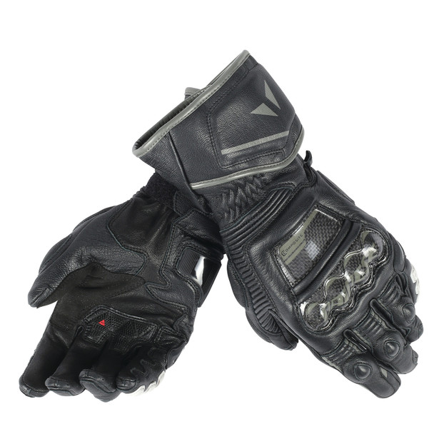 DRUID D1 LONG GLOVES BLACK/BLACK/BLACK- Leder