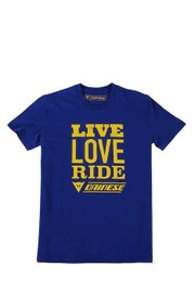 RIDERS MANTRA T-SHIRT NAVY