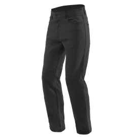 CASUAL REGULAR TEX PANTS BLACK- Hosen