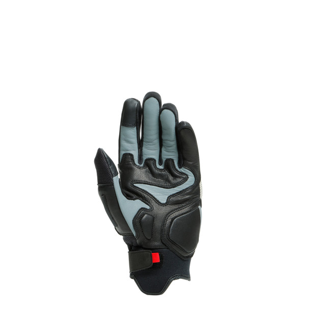 D-EXPLORER 2 GLOVES BLACK/PEYOTE- Leder