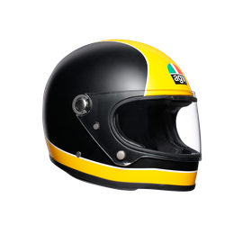 X3000 MULTI DOT - SUPER AGV MATT BLACK/YELLOW