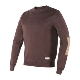 GRANT SWEATER DARK BROWN