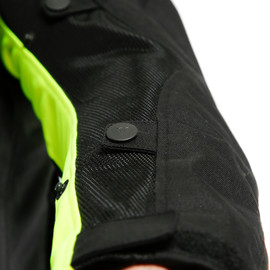 SAURIS 2 D-DRY® JACKET BLACK/BLACK/FLUO-YELLOW- Jacken