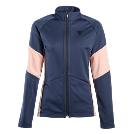 HP2 MID FULL ZIP LADY BLACK-IRIS/MISTY-ROSE- Layer Termici