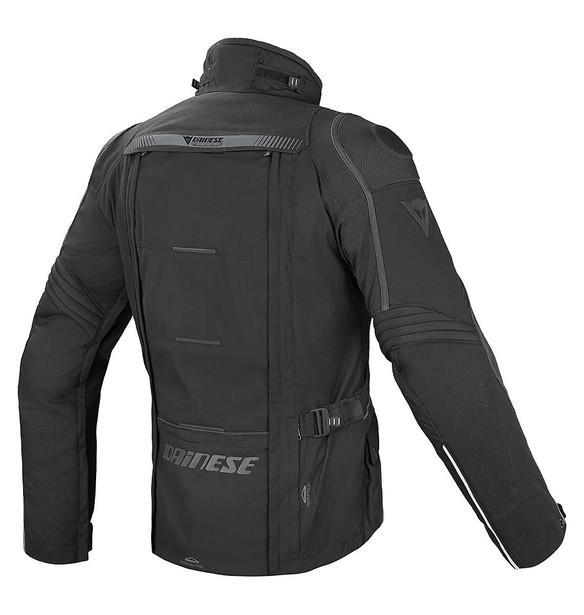 D-EXPLORER S/T GORE-TEX® JACKET BLACK/BLACK/DARK-GULL-GRAY- Textile