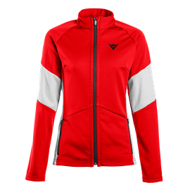 HP2 MID FULL ZIP LADY HIGH-RISK-RED/VAPOR-BLUE- Unterwäsche