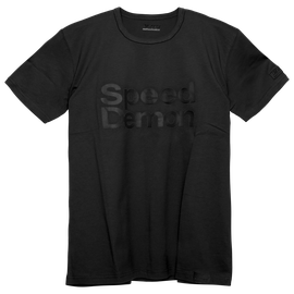 SPEED D72 T-SHIRT BLACK