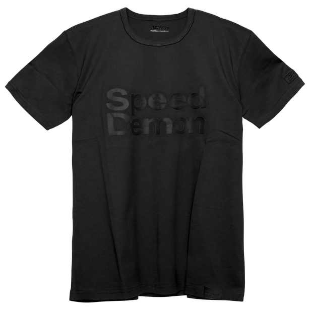 SPEED D72 T-SHIRT BLACK- New arrivals
