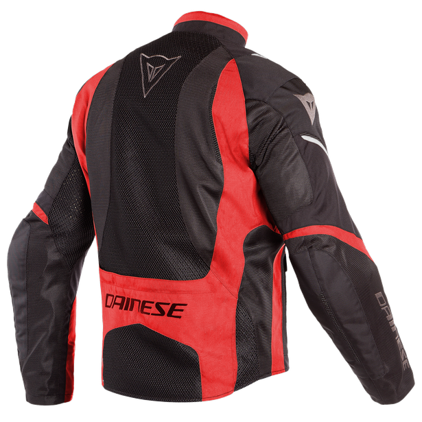 SAURIS D-DRY JACKET BLACK/TOUR-RED/LIGHT-GRAY- D-Dry®