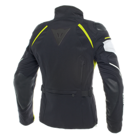 RAIN MASTER LADY D-DRY® JACKET BLACK/GLACIER-GRAY/FLUO-YELLOW- Jacken