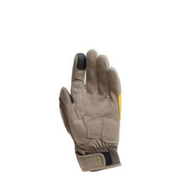 DJADO UNISEX GLOVES FEATHER-GRAY/MOREL/OLD-GOLD- Gants