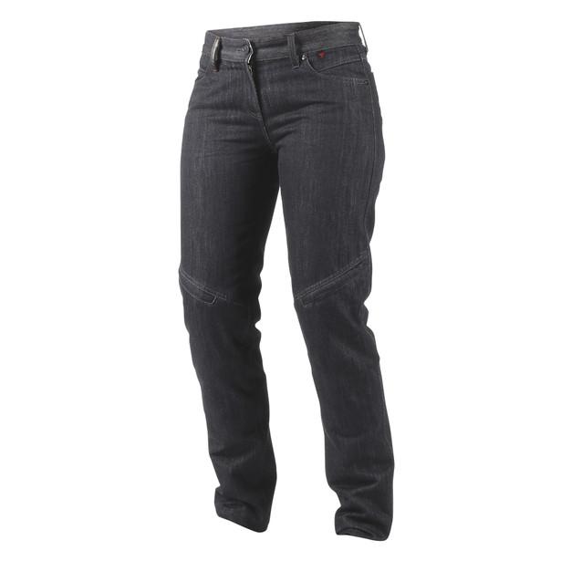 QUEENSVILLE REG. LADY JEANS BLACK-ARAMID-DENIM- Pants