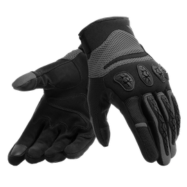 AEROX UNISEX GLOVES BLACK/ANTHRACITE- Tissus