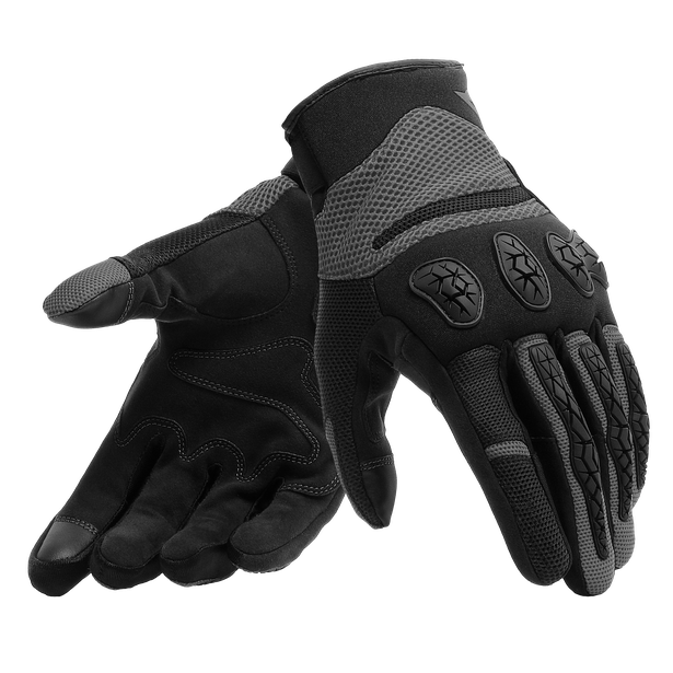 AEROX UNISEX GLOVES BLACK/ANTHRACITE- Textile