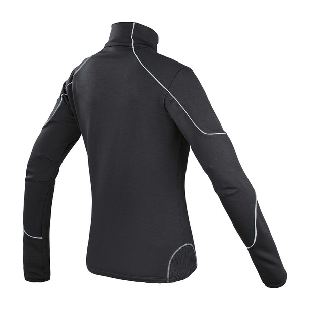 THERMAL LADY FULL ZIP E1 BLACK/GRAY- Thermal Layers