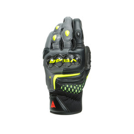 VR46 SECTOR SHORT GLOVES BLACK/ANTHRACITE/FLUO-YELLOW
