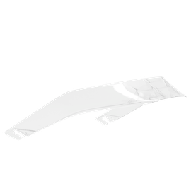 Replacement Spoiler Pista GP R - Clear
