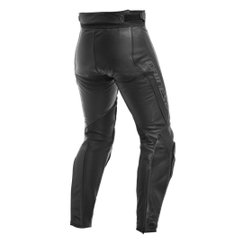 ASSEN LADY LEATHER PANTS BLACK/ANTHRACITE- Leather