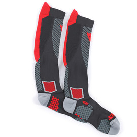 D-CORE HIGH SOCK BLACK/RED- Unterwäsche