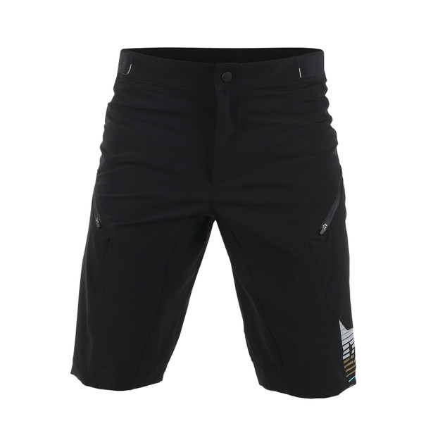 FLOW TECH SHORT KALEIDOSCOPE/ASPHALT- Hosen