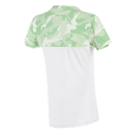 CAMO-TRACKS  LADY T-SHIRT WHITE/CAMO- undefined