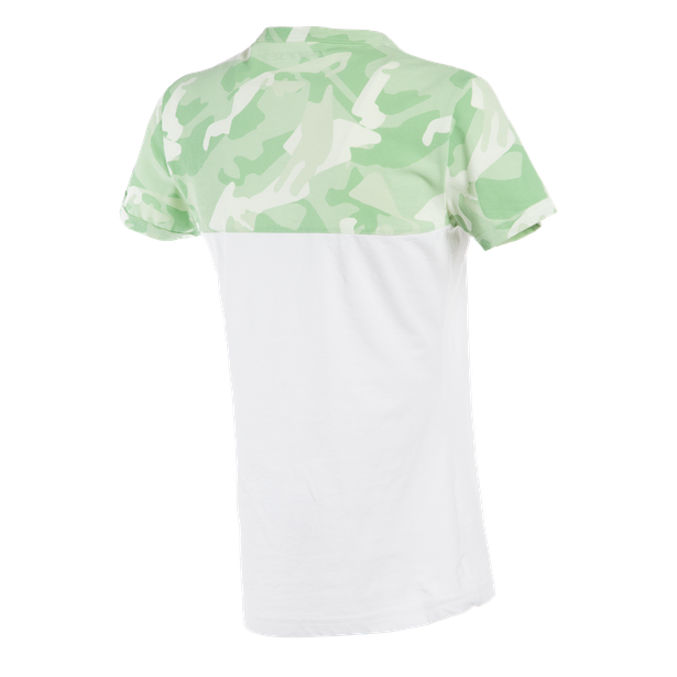 CAMO-TRACKS  LADY T-SHIRT WHITE/CAMO- Casual Wear