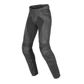 PONY C2 LADY LEATHER PANTS BLACK- Hosen