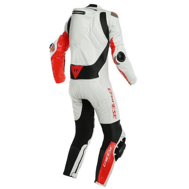 MUGELLO RR D-AIR® PERF. SUIT WHITE/FLUO-RED- Profesionales