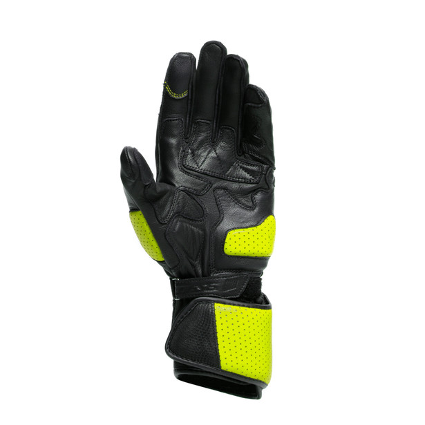 IMPETO GLOVES BLACK/FLUO-YELLOW- Gloves