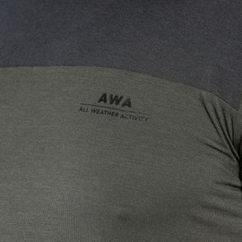 AWA BLACK TEE NINE-IRON- New arrivals