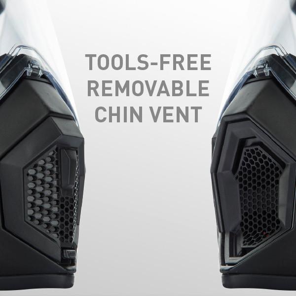 AX9 MONO E2205 - BLACK - Full-face