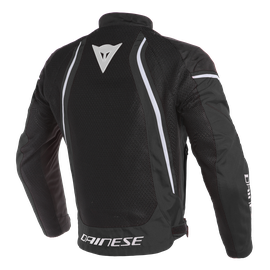 AIR CRONO 2 TEX JACKET BLACK/BLACK/WHITE- Textile