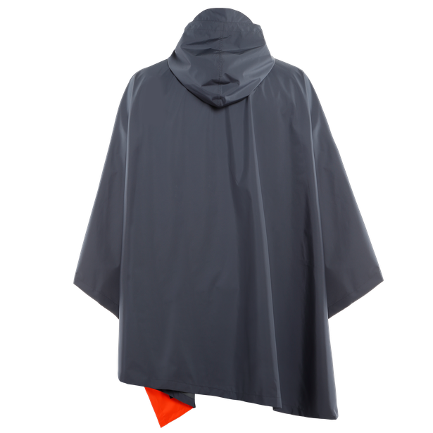 AWA BLACK - PONCHO OMBRE-BLUE- Jackets