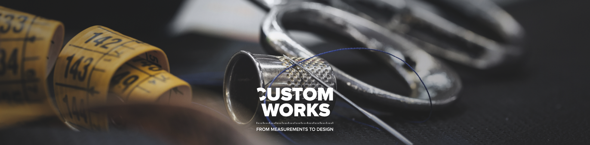 Banner from measurement to design