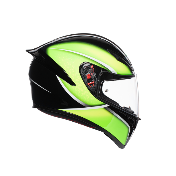 K1 MULTI ECE2205 - QUALIFY BLACK/LIME - Intégral