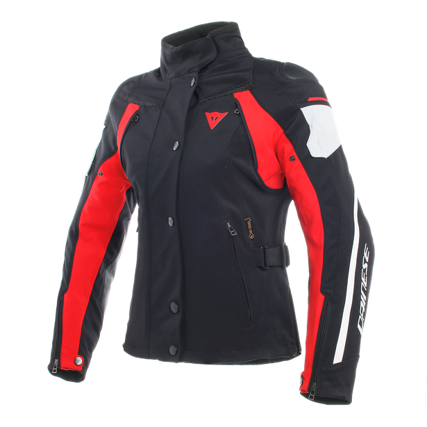 RAIN MASTER LADY D-DRY® JACKET BLACK/GLACIER-GRAY/RED- Blousons