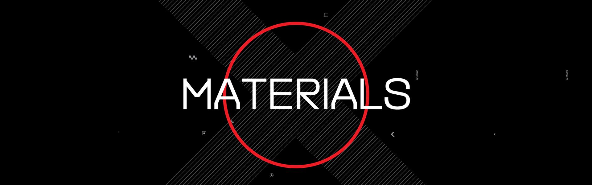 Dainese Materials