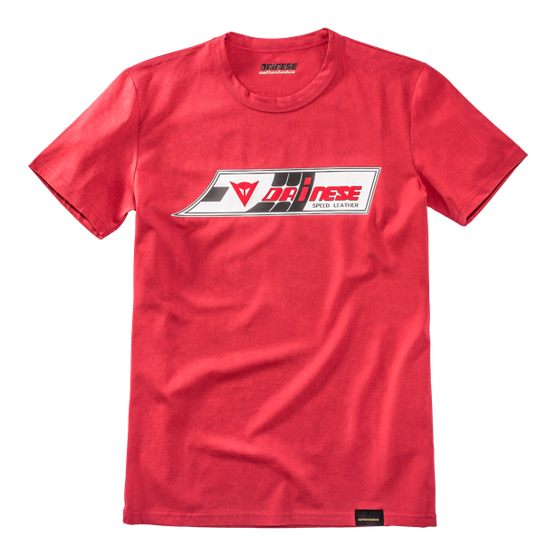 SPEED-LEATHER T-SHIRT RED- Dainese72